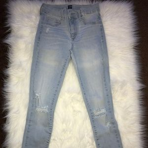 GAP Ripped Denim Jeans